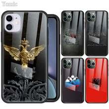 Ddd cabido caso para apple iphone 7 8 xr 11 pro x xs max 6 s plus se 2020 vidro temperado capa do telefone móvel Fitted Case for Apple iPhone 7 8 XR 11 Pro X XS MAX 6 6S Plus SE 2020 Tempered Glass Mobile Phone Cover