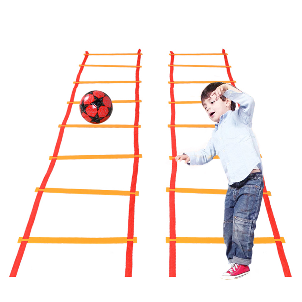 Jump Lattice Game For Children Outdoor Jumping Toys Agility Ladder Hopscotch Sports Games Preschool Teaching Aids For Kids