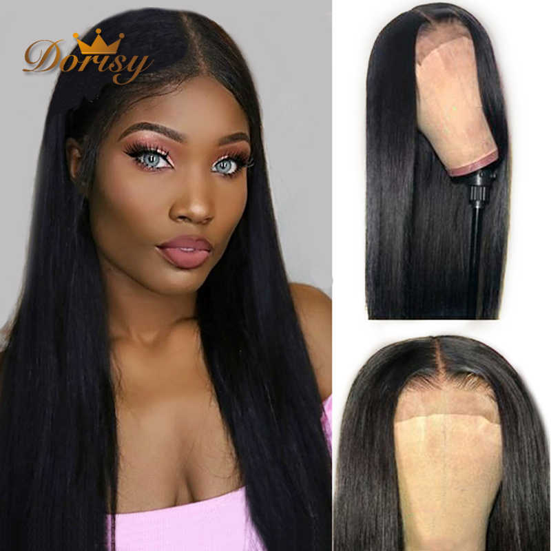 Lace Closure Wig Human Hair Wigs 4*4 Closure Wigs For Women Brazilian Straight Lace Wig Hair Non Remy 10-24 Inches
