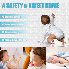 Wall-Stickers And 3D Shelf Brick Easy-Paste Peel 3d-Stone Splash Self-Adhensive Off-Back