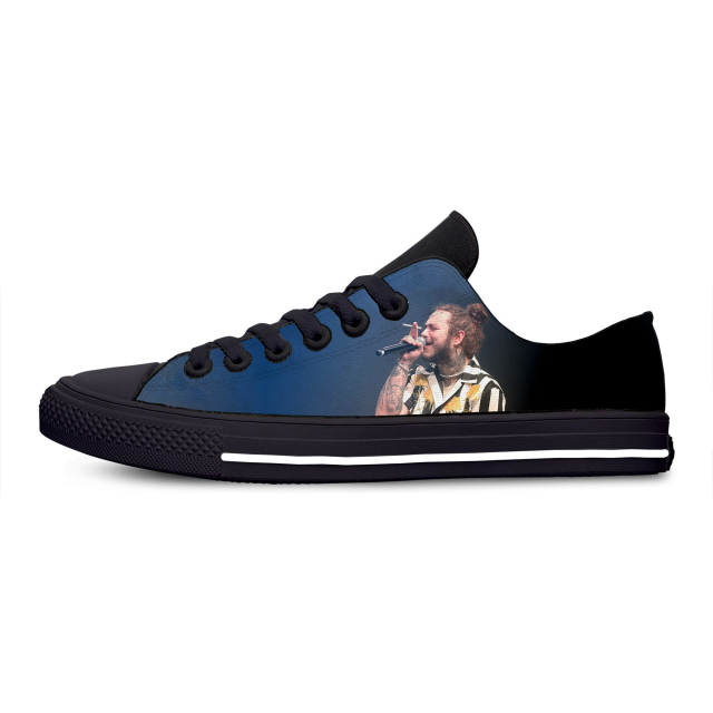Post Malone 3D Print Fashion Casual Shoes  1