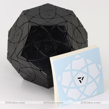Mf8 cubo mágico aj vermelho algodão dodecaedro cubo bauhinia megaminxeds ziicube quebra-cabeças mágicos profissional educacional gam brinquedos