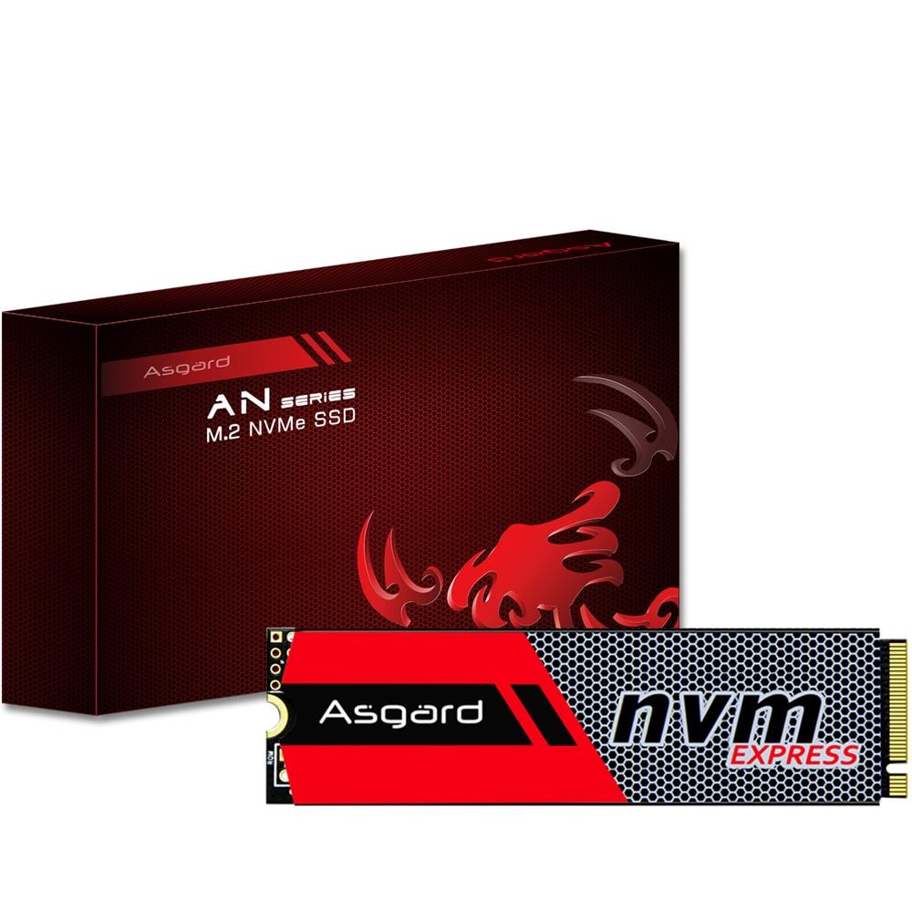 Asgard M.2 ssd M2 256 ГБ 512 Гб PCIe NVME твердотельный накопитель 2280 внутренний жесткий диск hdd для настольного ноутбука