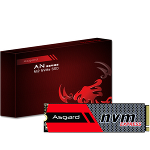 Asgard M.2 ssd M2 256gb 512gb PCIe NVME Solid State Drive 2280 Internal Hard Disk hdd for Desktop Laptop