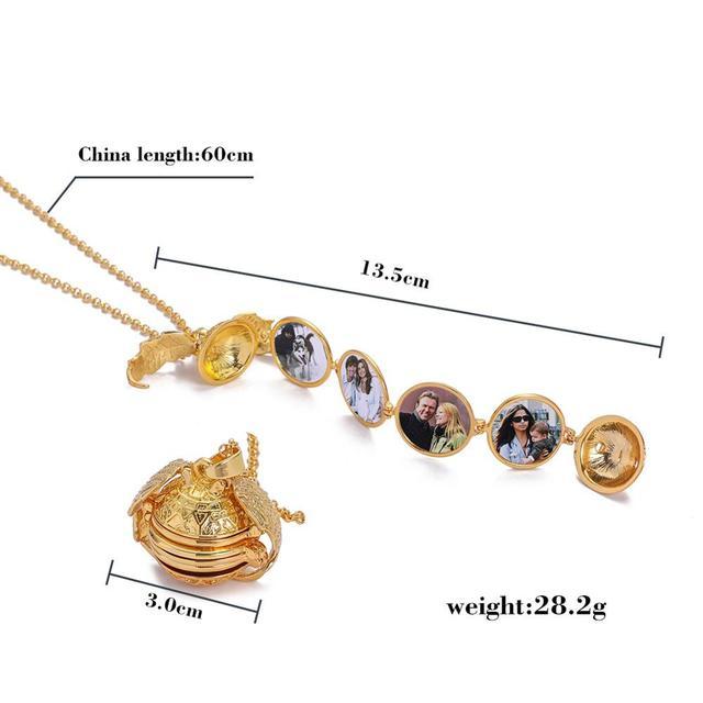 Фото ожерелье с подвеской «ангельские крылья» многослойный складной