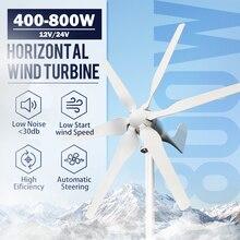 Farm Wind-Turbine-Generator Low-Wind High-Efficient Home 5/6-Blades Speed-Start 24v 400w