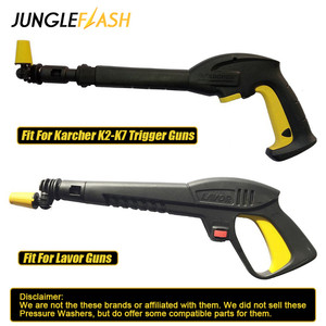 Image 5 - JUNGLEFLASH 360° Gimbaled Spin Nozzle Pressure Washer Spray Nozzle Tips Jet Water Gun Lance For Lavor Karcher K2 K7 Trigger Guns