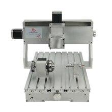 3040 cnc рамка 400*300 мм токарный шариковый винт с 57 мм гравировальный двигатель сверлильные и фрезерные инструменты