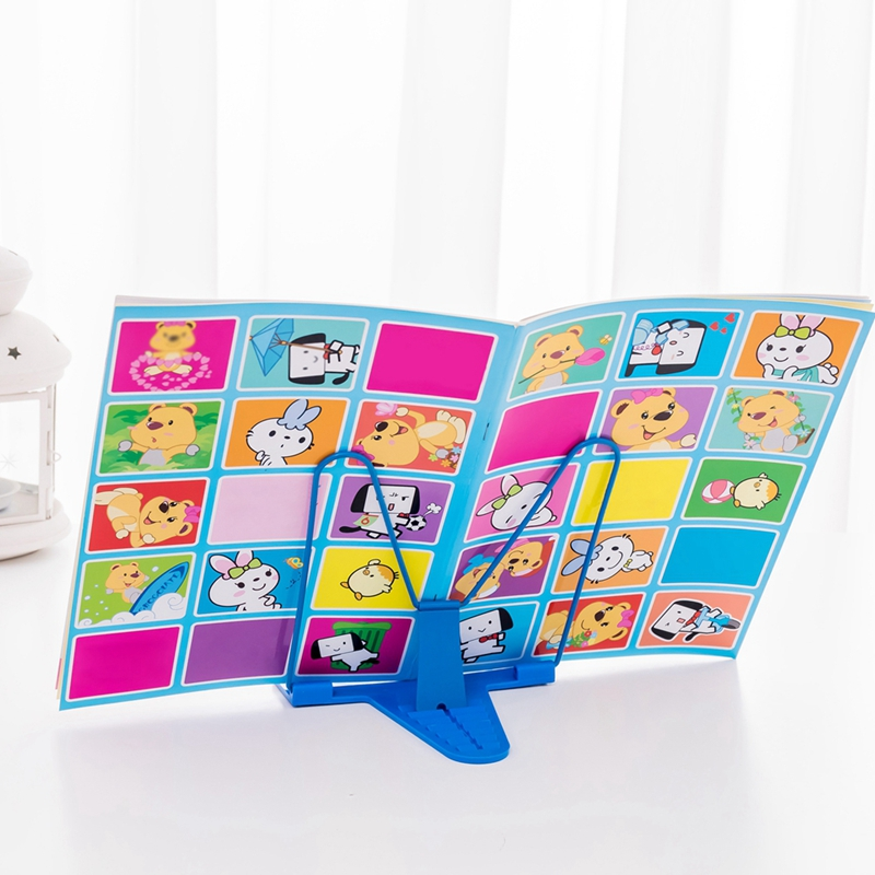 Desktop Adjustable Corrective Sitting Posture Eye Protection Reading Rack Household Reading Rack