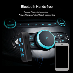 Image 4 - X6 3.5MM Aux Jack Bluetooth 4.1Receiver Support TF Card A2DP Audio Stereo Bluetooth Adapter  Wireless Hands Free Music Receiver