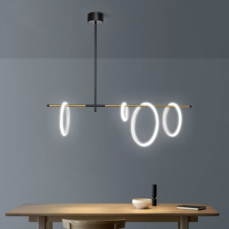 LED Magnetic attraction Chandelier ...