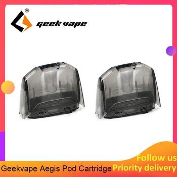 Original 2pcs /4pcs/6pcs Geekvape Aegis Pod Cartridge Tank 3.5ml Replacement Pod Atomizer Vaping Tank Electronic Cigarette