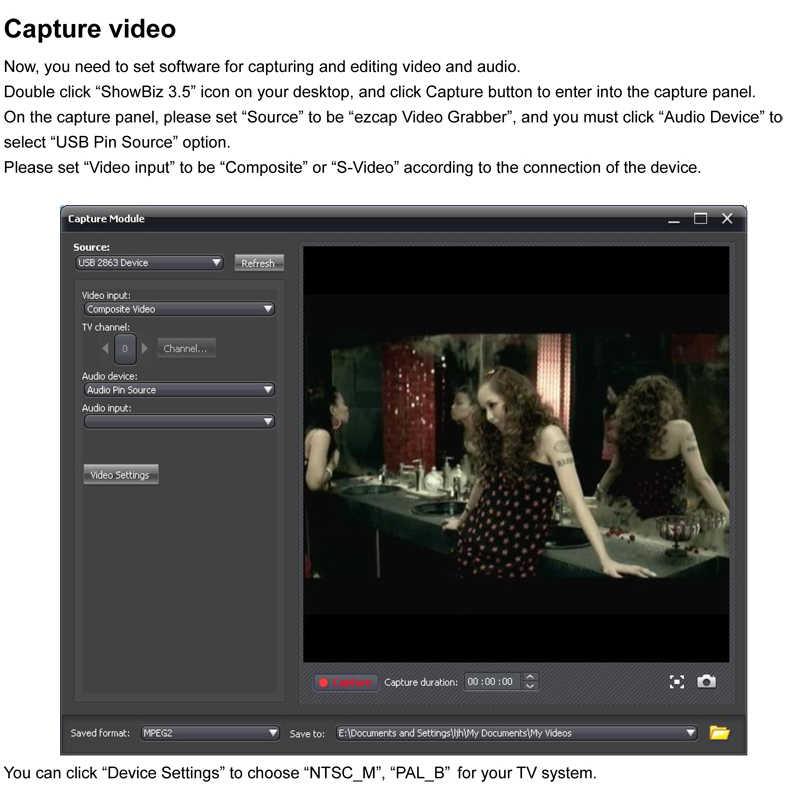 Ezcap172 USB 2.0 Video Grabber AV S-Video Game Menangkap Audio Kartu Rekaman Lama VHS 8Mm Kaset Video kamera Camcorder Windows Win10