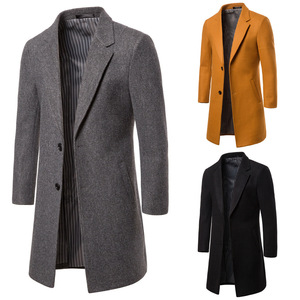 19 Winter Men's Woolen Cloth C
