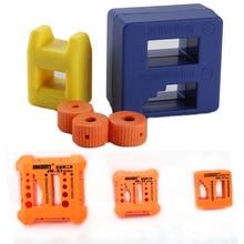 2 в 1 намагничатель размагничивающий инструмент Намагниченный Металл Намагниченный драйвер магнитный держатель бит для отвертки Bitset гаечный ключ скамья