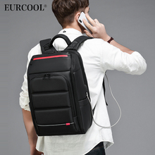 NEW 15.6 inch Laptop Backpack For Men Water Repellent Functional Rucksack with USB Charging Port Travel Backpacks Male n0003 coolbell 15 6 inch laptop backpack travel bag with usb charging port multi functional business rucksack bags water resistant ff