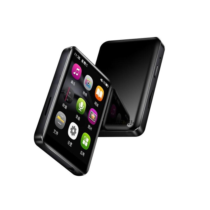 Newsmy A25 Touch Screen Player Bluetooth MP3 Lossless Music Player Sports Portable Mini FM MP3 4GB/8GB Walkman Support OTG TF