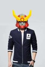 Бумажная маска 3d Броня костюм воина Косплей Сделай Сам Маска