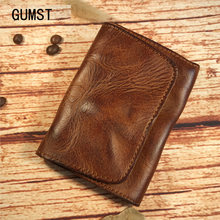 2021 дизайн винтажный маленький кошелек унисекс с карманом для