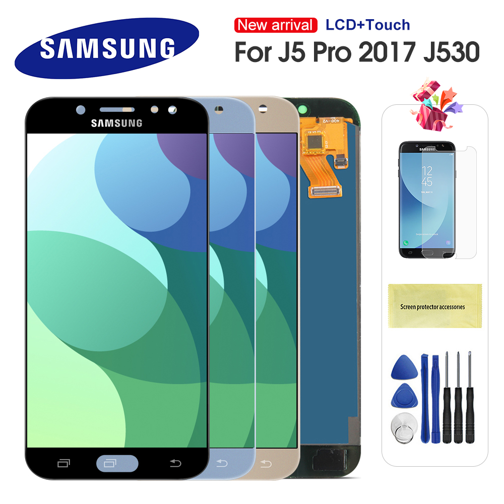 LCD For Samsung Galaxy J5 2017 J530 J5 Pro SM-J530F J530M LCD Display Touch Screen Digitizer Assembly For J5 J530 LCD Screen