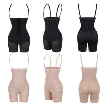 Corset Secret Women Body shaper Tummy Control Underwear Adjustable Straps Shapewear Crotch Zipper design Bodysuit Women Corset 5