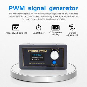 PWM Signal Generator 1-Channel 1Hz-150KHz PWM Pulse Frequency Duty Cycle Adjustable Module LCD Display xr2206 signal function generator synthesizer dds frequency pwm pulse generator sine gerador de sinal adjustable module diy