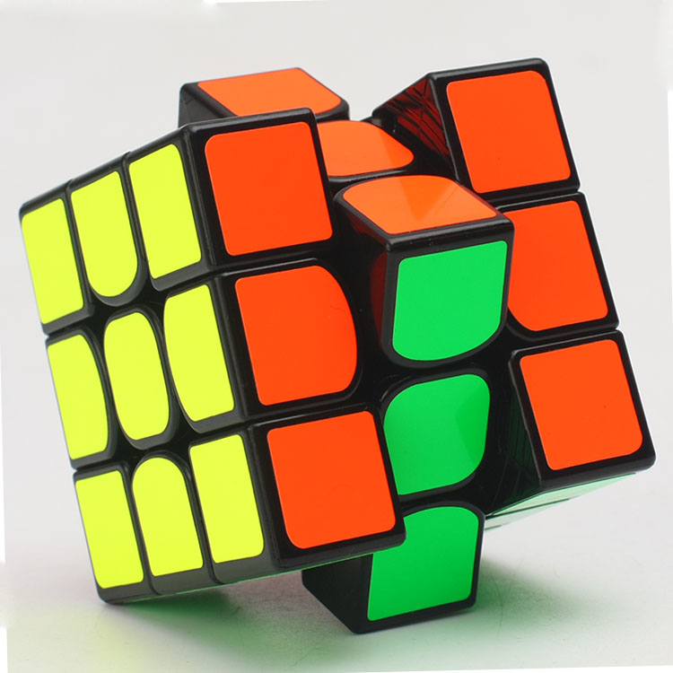 3x3x3 cubo mágico magnético quebra-cabeça valk 3