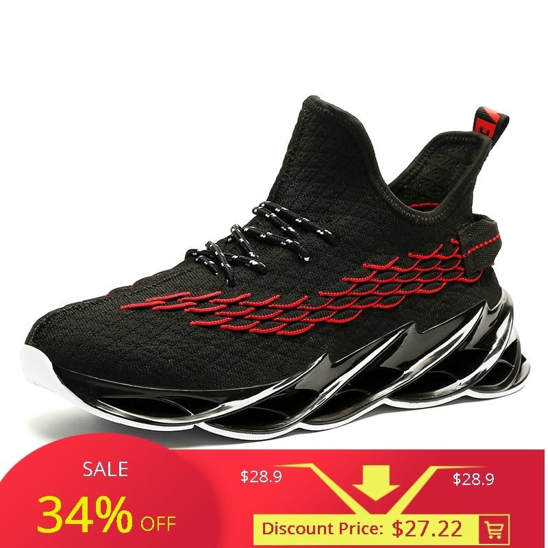 Men Jogging Walking Sports Shoes High
