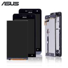 "5.0"" Original Display For ASUS Zenfone 5 LCD Touch Screen with Frame For ASUS Zenfone 5 Display T00J A500KL A500CG A501CG(China)"