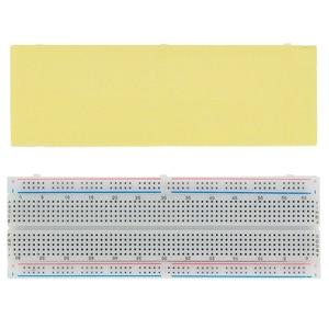 Image 2 - 100pcs/lot Breadboard 830 Point Solderless PCB Bread Board MB 102 MB102 Test Develop DIY