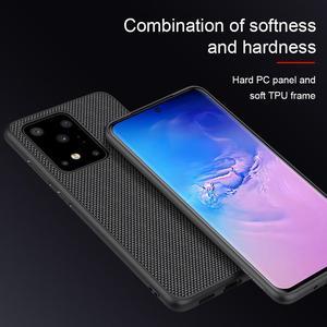 Image 3 - NILLKIN funda de teléfono texturizada para Samsung Galaxy S20/S20 Plus/S20, cubierta trasera esmerilada de negocios de lujo antideslizante de fibra de nailon Ultra