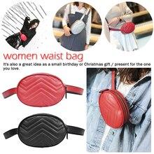 Women Travel Waist Portable Crossbody Pack Belt Pouch Hip Bum Bag Purse Handbag Solid