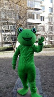 2019 Frog Mascot Costume Suits Party Game Dress Outfits Clothing Advertising Carnival Hallowen Cosplay Unisex Gifts Adults