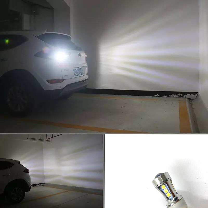 HX Esclusivo Progettato CAN-bus Error Gratuita 15SMD 3030 Xenon Bianco LED della Luce di Sostegno Lampade Per Audi Q3 Q5 q7 (Nessuna Lampadina Avvertimento)