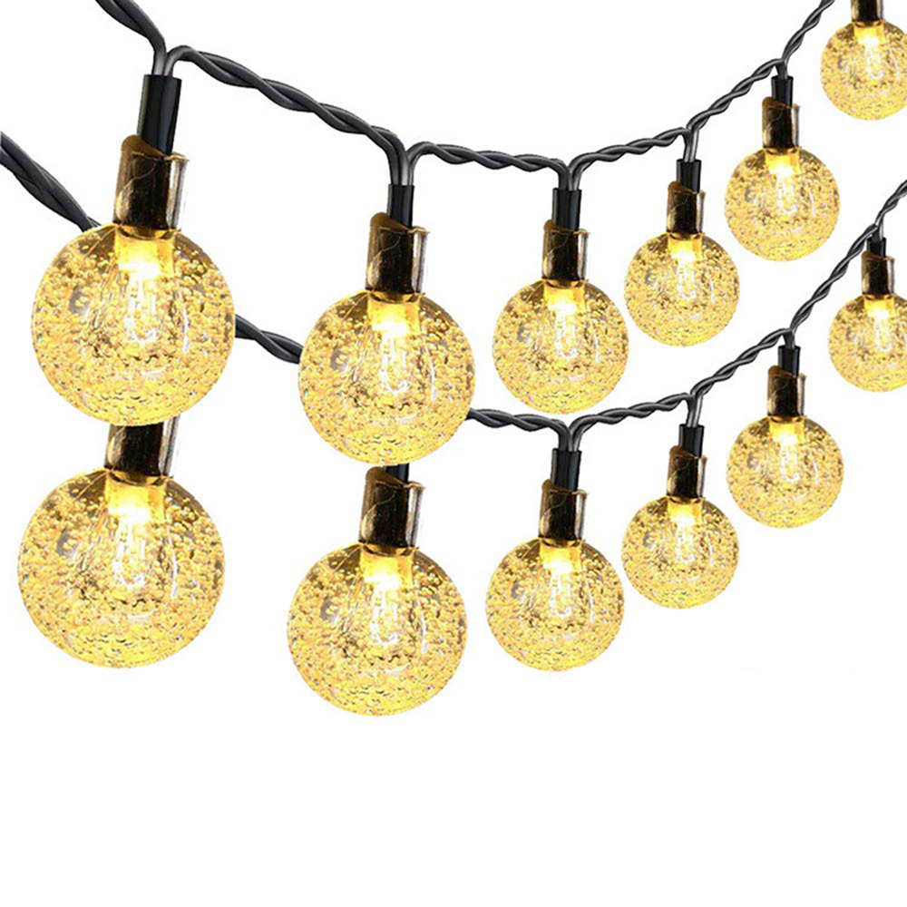 20 LEDs 3 M Fairy Garland LED Ball String Lights Waterproof For Christmas Tree Wedding Home Indoor Decor Battery Powered