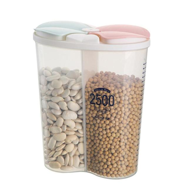 Transparent Food Storage Box with Lid