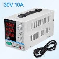 Switching lab power supply laboratory power source adjustable 30V 10a voltage regulator 220 v 110 v bench source digital