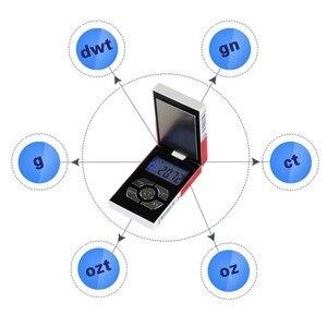 Image 5 - Nouveau Pop Mini poche électronique numérique Balance de bijoux pour boîte à cigarettes en or peser Balance 0.01 200g poids numérique mini Balance