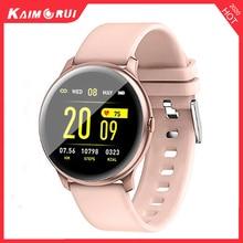 Kaimorui KW19 Women Smart watch Heart rate monitor blood pressure Sport Smartwatch Men Fitness Tracker Connect Xiaomi Android IO