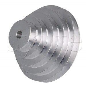 Image 2 - 5 Step A Type V Belt Pagoda Pulley Belt Outter Dia 54 150mm(Hole Dia 14mm,16mm,18mm,19mm,20mm,22mm,24mm,25mm,28mm)
