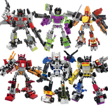 Transformers-4 MODEL-Mini Robots Figure MICRO BLOCK-LOVELY GIFT DIY Toy Brick