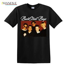 Backstreet Boys T-shirt, American vocal group,free delivery Tshirt O-Neck Summer Personality Fashion Men T-Shirts Style