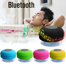 Mi-ni Wireless Bluetooth Speaker Hands Free Waterproof Car Bathroom Office Beach Stereo Subwoofer Music Loudspeaker With Suction(China)