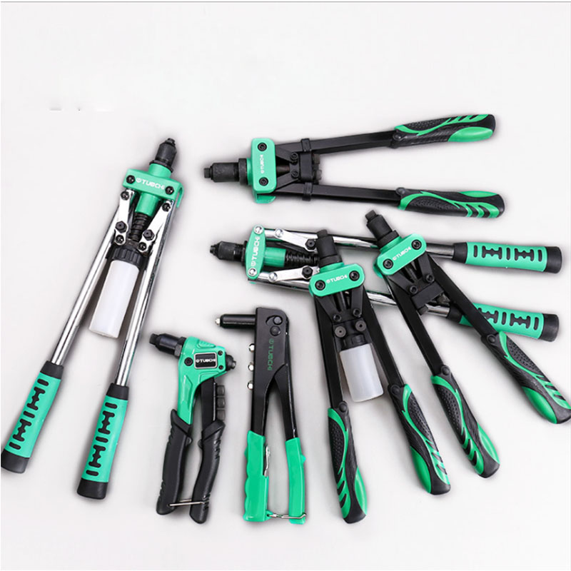 8/9.5/13/14/17inch Riveter Gun Auto Rivet Tool Heavy Nuts Nail Gun For Decoration Repair Tools Hand Tools
