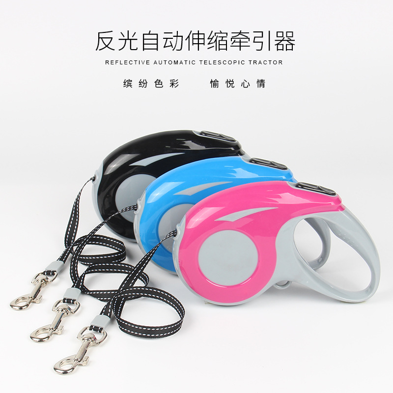 New Style Fashion Simple Fully Automatic Stretching Dog For Useful Product Dog Hand Holding Rope