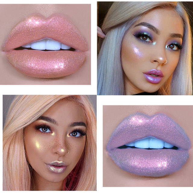 Glitter Liquid Holographic Lipstick 1