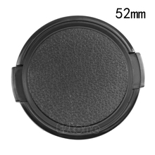 52 mm 52mm Snap on Front Lens Cap for Nikon Canon Pentax  SLR DSLR camera DC 52mm camera lens cap cover