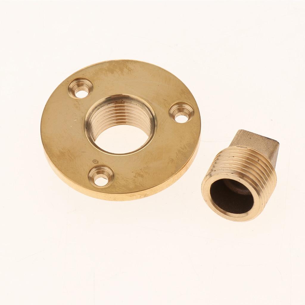 Boat Marine Garboard Drain Plug Machined Brass Fits 1