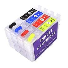 Pantum чернильный картридж для принтера, 4 цвета, 29xl t2991 струйных принтеров для EPSON XP 255 XP-342 XP 352, многоразовый картридж