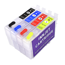a Printer ink cartridge 29xl 4 color t2991 compatible for epson xp 255 xp-342 352 refillable printer supplies